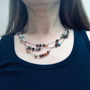 Colorful Layering Necklace